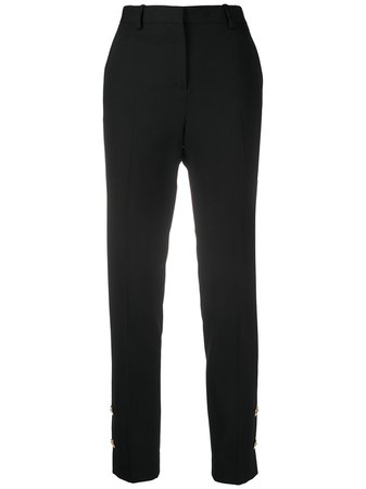 Versace, High-Waisted Trousers Pants