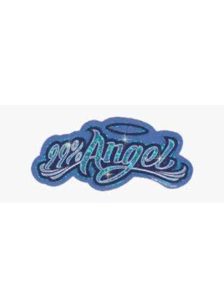 angel blue png filler Y2k