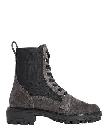 Rag & Bone Shiloh Suede Combat Boots   INTERMIX®