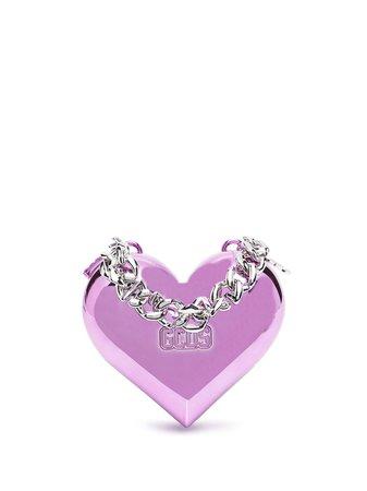 Gcds Heart chain-strap Clutch Bag - Farfetch