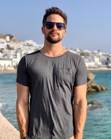"""Brant Daugherty on Instagram: """"Looking at old vacation photos this morning because we've been stuck inside for three months and I'm definitely not going insane why do you…"""""""