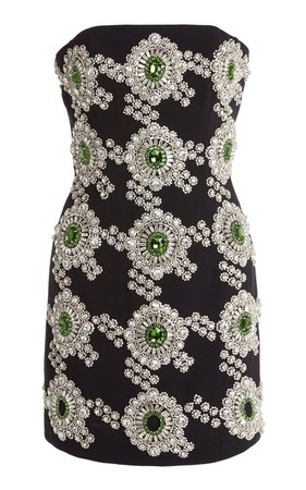 David Koma | embellished crepe mini dress