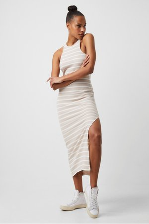 Tommy Ribbed Jersey Dress | New Arrivals | French Connection Usa