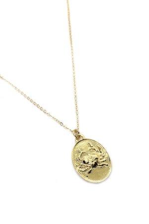 Talon Gold Cancer Necklace | Garmentory