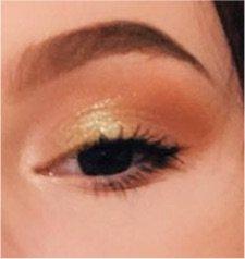 simple glam eyeshadow