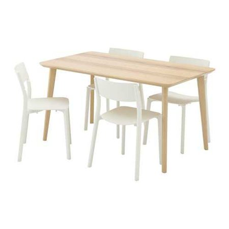 LISABO / JANINGE Table and 4 chairs - IKEA