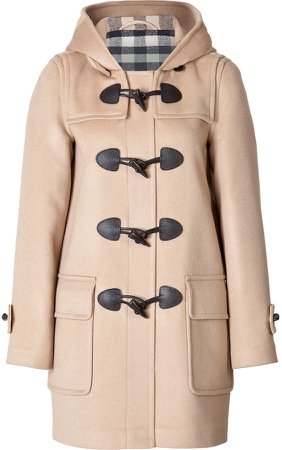 Burberry Minstead Wool Toggle Coat