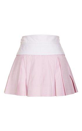 Irregular Pleated Skirt With Exposed Waistband by Alexander Wang | Moda Operandi