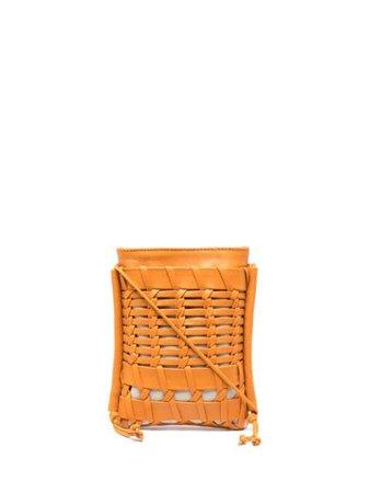 Hereu woven cross-body bag orange WBR21TRNI002 - Farfetch