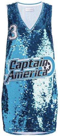 captain america jersey top