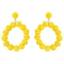 yellow earrings - Cerca con Google