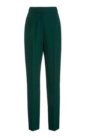 High-Rise Tapered Twill Pants By Jason Wu Collection   Moda Operandi