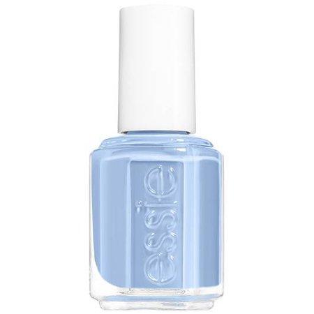 salt water happy - light blue nail polish & nail color - essie