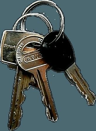 keys carkeys aesthetic png sticker moodboard picsart...