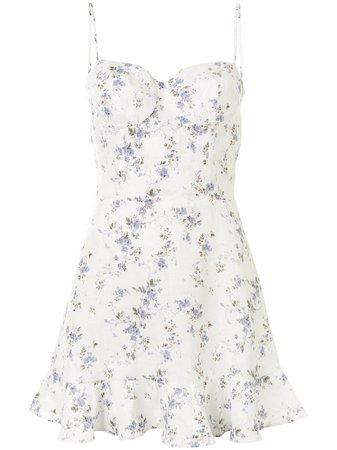 Reformation Mariana floral-print mini-dress - Farfetch