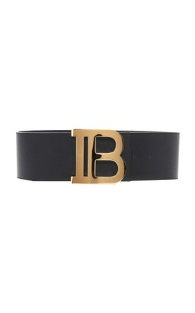 BALMAIN B-BELT WIDE BELT