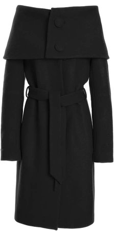 Martin Grant Belted Wool Coat