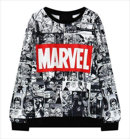 Marvel Comic Sweatshirt