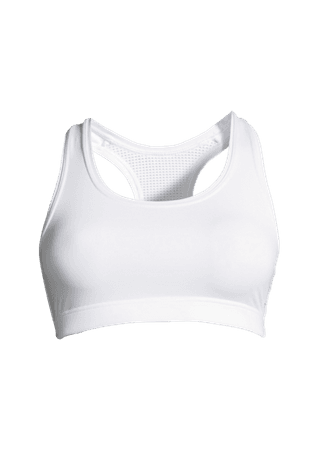 White Sport's Bra