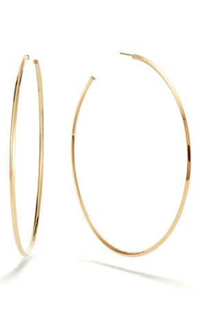 Lana Jewelry Casino Hollow Hoop Earrings | Nordstrom
