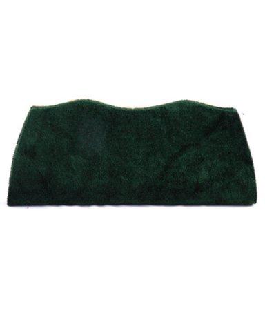 Emerald Velvet Clutch
