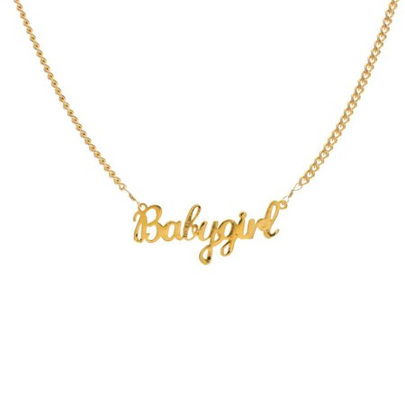 90s name plate necklace - Google Search