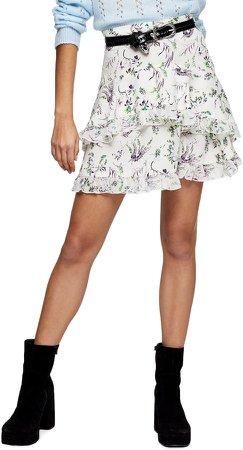 IDOL Desiree Layered Skirt