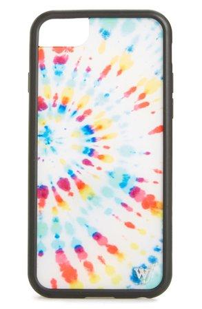 wildflower Tie Dye iPhone 6/7/8 Case | Nordstrom