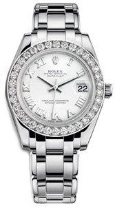 Rolex Lady Masterpiece Mid-Size Diamonds 81299 WR - Luxury Of Watches