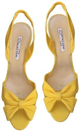 Yellow Cloth Sandals