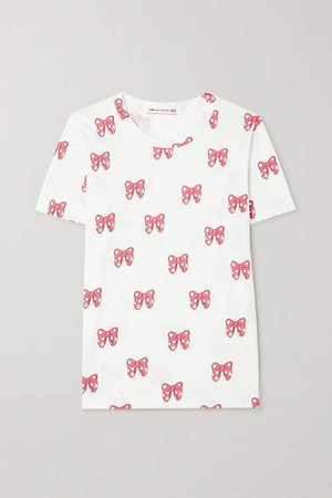 Disney Printed Cotton-jersey T-shirt - White