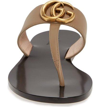 Gucci GG T-Strap Sandal (Women) | Nordstrom