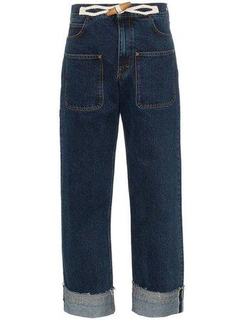 JW Anderson high-waisted wide-leg Jeans - Farfetch