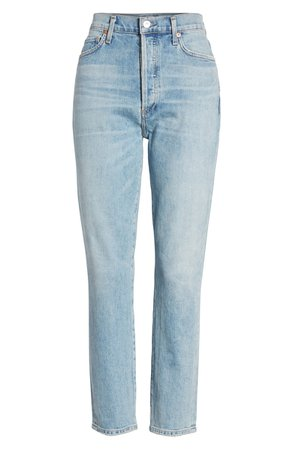Citizens of Humanity Olivia High Waist Crop Slim Jeans (Renew)   Nordstrom