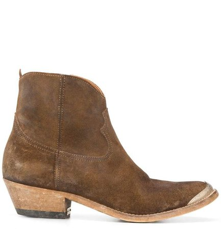 Crosby Western ankle boots