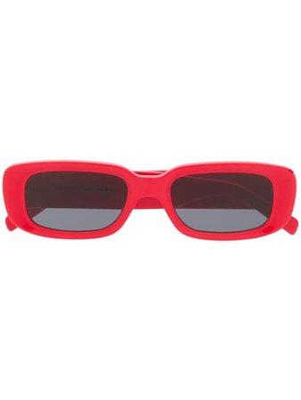 Off-White Small Square Frame Sunglasses - Farfetch