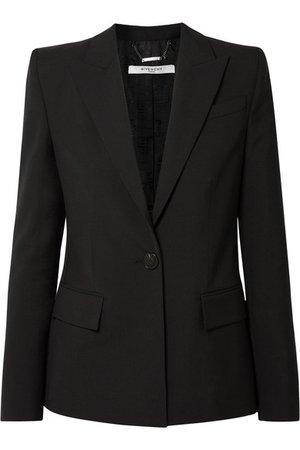 Givenchy | Wool-crepe blazer | NET-A-PORTER.COM