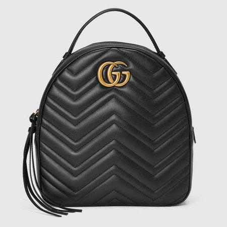 GG Marmont quilted leather backpack - Gucci Women's Backpacks 476671DTDHD1000