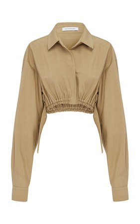 Christopher Esber Oversized Ruched Shirt