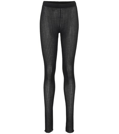 Jil Sander - Ribbed-knit leggings | Mytheresa