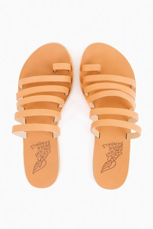 Ancient Greek Sandals | Natural Niki Sandals | Ancient Greek Sandals