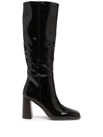 Senso Zandar III patent leather boots - FARFETCH
