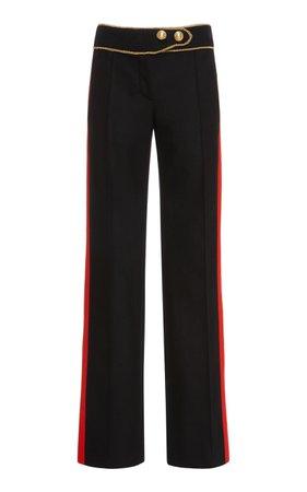 Side Stripe Straight-Leg Pants by Paco Rabanne | Moda Operandi