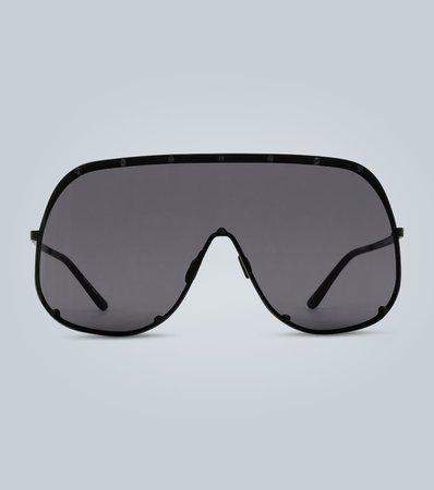 Rick Owens - Oversized aviator sunglasses | Mytheresa