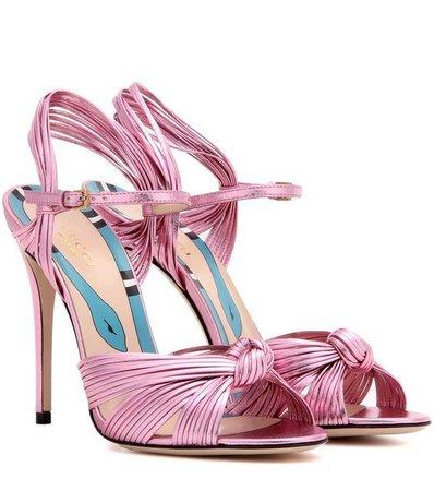 Pink Gucci Heels