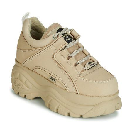 Buffalo 1533046 Beige - Free Delivery with Rubbersole.co.uk ! - Shoes Low top trainers Women £ 124.80