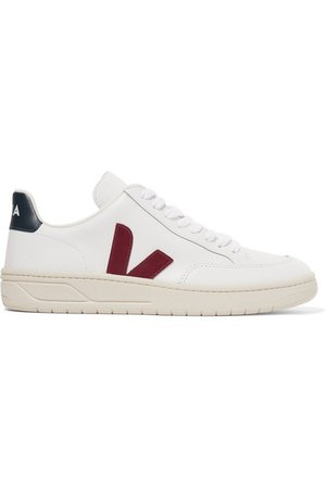Veja | + NET SUSTAIN V-12 leather sneakers | NET-A-PORTER.COM