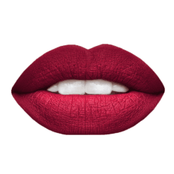 CONVIVIAL | Red burgundy Lip-Powerment- Fontella Cosmetics