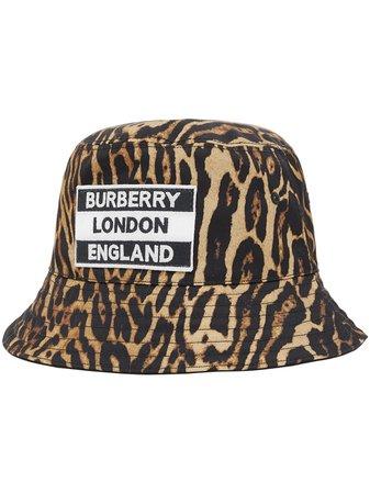 Burberry Sombrero De Pescador Reversible Estampado - Farfetch