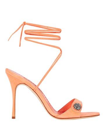 Manolo Blahnik Sabisa 105 Strappy Sandals | INTERMIX®